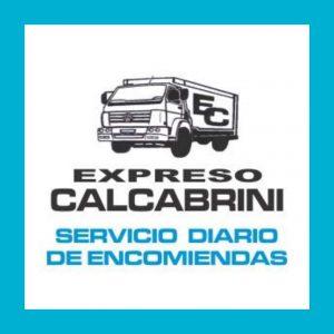 expreso calcabrini servicio diario de encomiendas