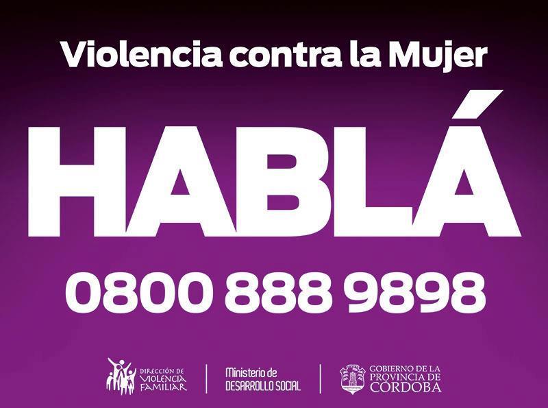 VIOLENCIA DE GENERO DENUNCIAS CORDOBA