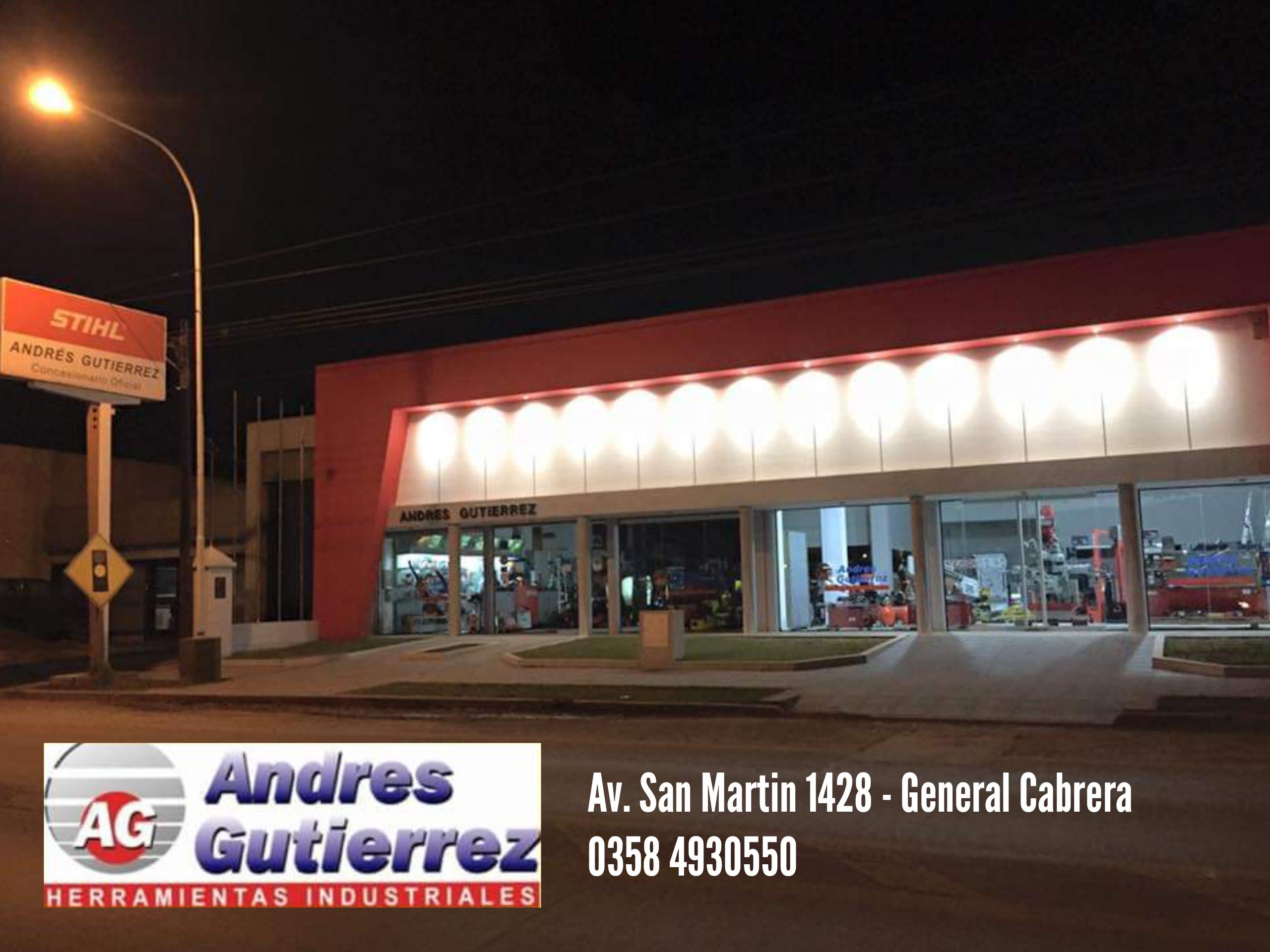 herramientas industriales Andrés Gutiérrez general cabrera