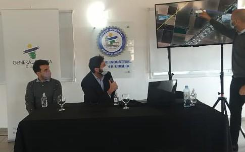 RED DE GAS NATURAL PARA EL PARQUE INDUSTRIAL DE GENERAL DEHEZA