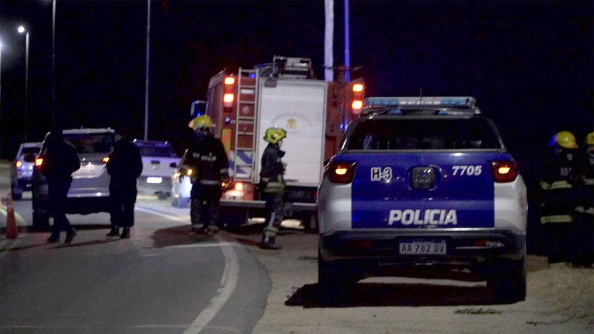 CUATRO MUERTOS EN UN ACCIDENTE FRENTE A EPEC EN RIO CUARTO