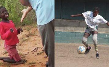 YOYOCA: LA NIÑA AFRICANA QUE NO PODIA CAMINAR Y AHORA JUEGA AL FUTBOL EN CORDOBA